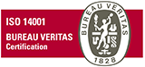 ISO9001 ISO14001 AS9100 BUREAU VERITAS Certification